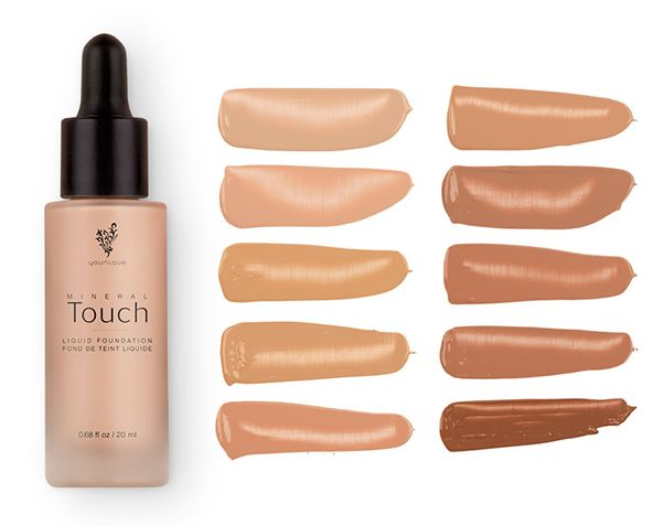 Fond de Teint Liquide Touch Mineral
