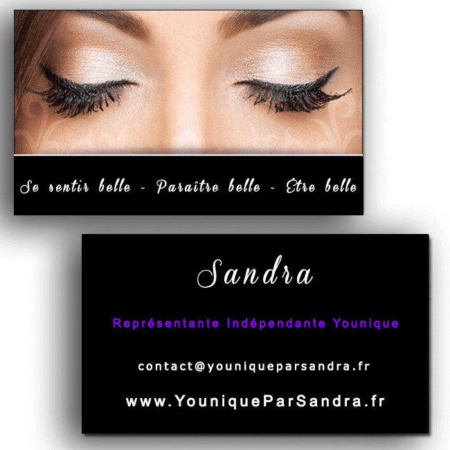 Carte de visite Younique