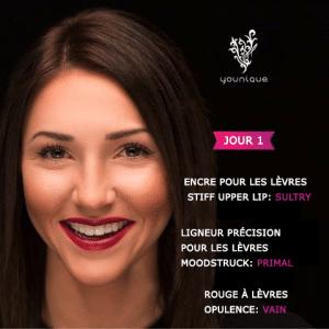 Idée de maquillage pour Noël n°1