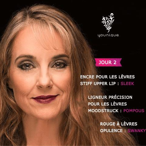 Inspiration maquillage pour Noël n°2