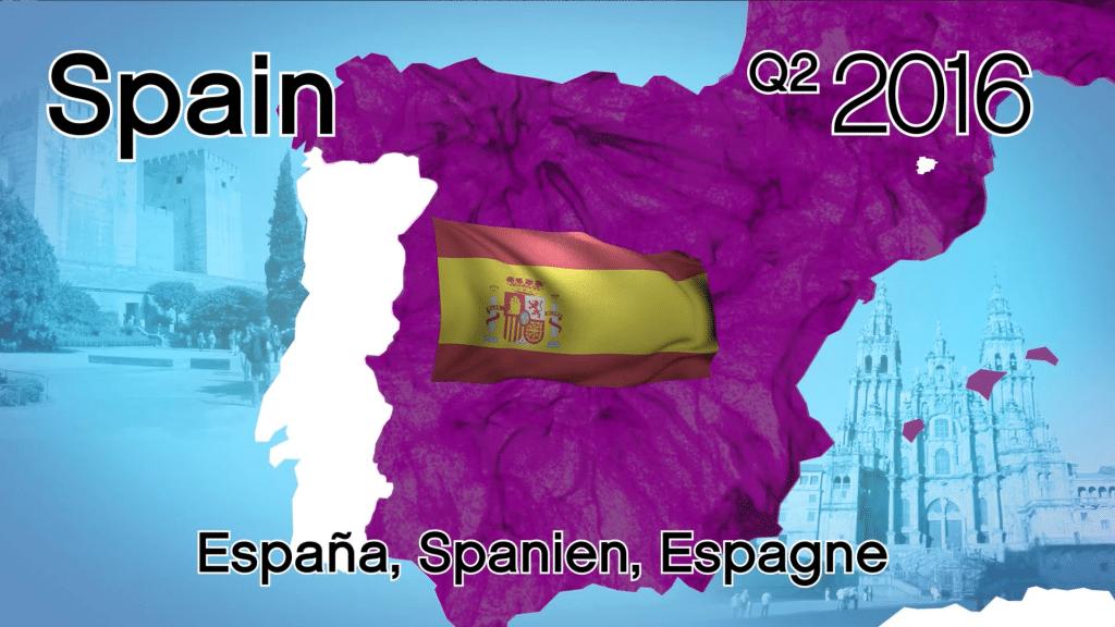 Arrivée de Younique en Espagne
