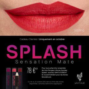 Cadeau Younique Rouge à lèvres Splash