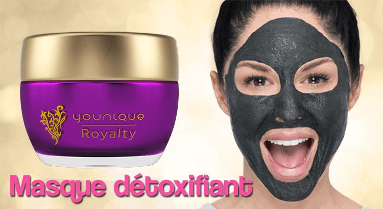 Masque détoxifiant Royalty de Younique