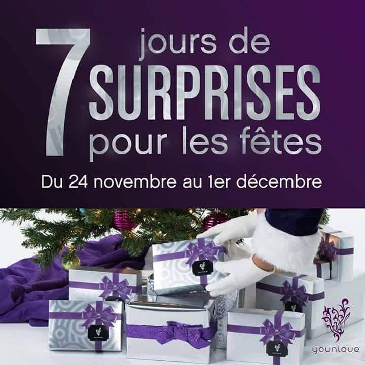 Les promotions Younique du Black Friday