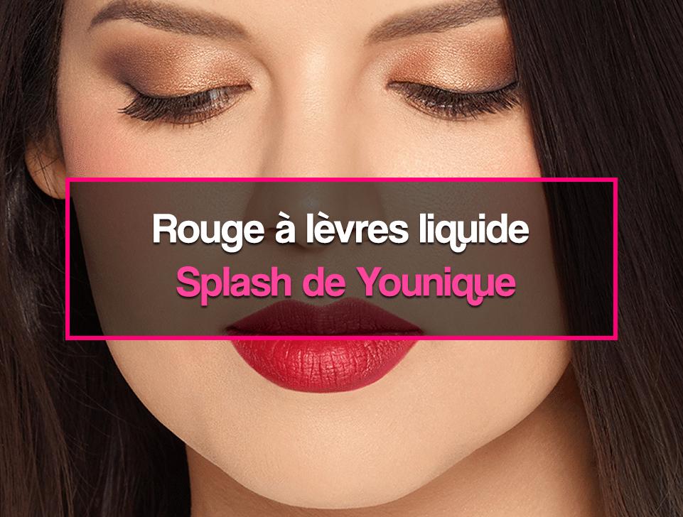 Rouge à lèvres liquide Splash